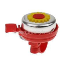 Sunflower Shaped Kids Bike Bicycle Cycle Cycling Bell Ring Red Blue Yellow Pink