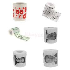 Funny Novelty Theme Toilet Paper Party Gag Gift Prank Humor Bathroom Accessory