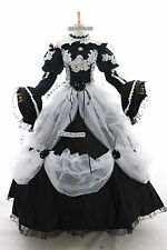 a-265 MIKU Victorian Cosplay Costume Gothic Prom dress EVENING GOWN Custom-Made