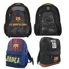 FC Barcelona  backpack school  mochila bookbag  cinch shoe bag official Messi 10