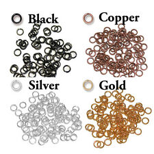 100 Pack - 4mm ID Open Jump Rings - 20 GA - TierraCast - choose from 4 colors
