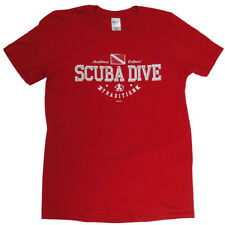 Scuba Dive Shirt Amphibious Outfitters RED Scuba Tradition
