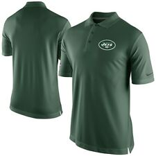 NEW $65 Nike NFL NY JETS Sideline Green Staff Performance Polo On-Field Dri-FIT
