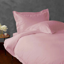 1000 TC Pink Solid-Bedding Sheets Collection 100%Egyptian Cotton All Sizes;