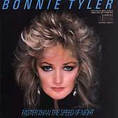 BONNIE TYLER - Faster Than the Speed of Night (OriginalCD, 1985, Columbia (USA))