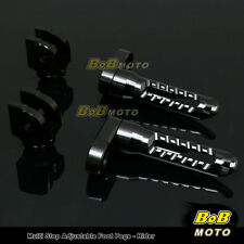 FOR Triumph Daytona 650 2004-2005 Multi Step Adjustable Front Foot Pegs