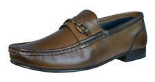 Base London Journal Mens Leather Shoes / Loafers - Brown - PQ01200