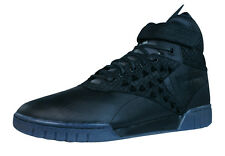 Reebok Classic Exo Fit Hi Clean PM Int Mens Leather Trainers - Black - V61160