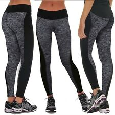 Womens Yoga Gym Pant Running Train Clothes Sports Stretch Legging Fitness FT