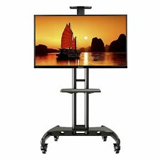 Portable Trolley Floor TV Stand for 40