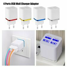 1/2/4 Ports USB Wall Charger Adapter Power Plug For Samsung iPhone 5S 6 6S Plus