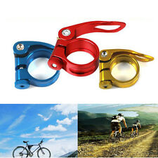 31.8mm MTB Bike Bicycle Saddle Seatpost Clamp Quick Release Style Seatpost Clamp