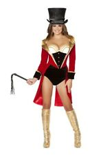 Ringleader Ringmaster Circus  Sexy Women's Adult Halloween Outfit Costume