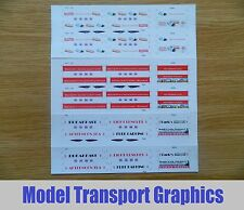 Advertising Self Adhesive Decals for Halling Blackpool Flexity Tram HO scale