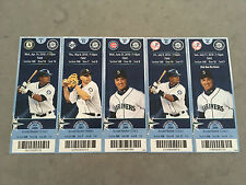 2010 Seattle Mariners Full Tickets YOU PICK ONE GAME Ichiro Griffey Jr. Jeter