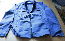 Blue Alexandra Workwear W143 Premium Quality Zip Drivers Work Jacket Poly-Cotton