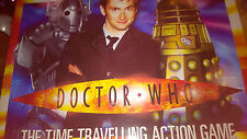 Doctor Dr Who Tardis RARE Interactive Electronic Board Game BBC TV 2004 Pristine