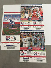 2012 Full Tickets Texas Rangers YOU PICK ONE GAME Kinsler Cruz Beltre Lewis