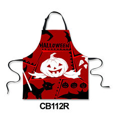 Funny Aprons Halloween Theme Cooking Kitchen,Gardening,Painting Apron Dress NEW