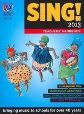 NEW Sing! 2013 Teachers' Handbook by Paperback Book Free Shipping