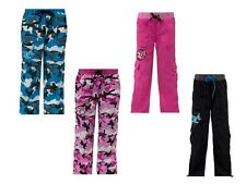 NEW Kids Zumba camo cargo pants, fits Womens Small too!