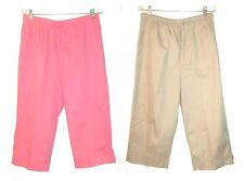 Size 14-16 ~ Coral Bay Cotton & Cotton Blend Capri Pants