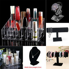 Clear 24 Makeup Cosmetic Lipstick Storage Display Stand Rack Holder Organizer XY