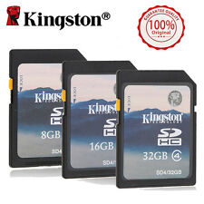Kingston 32GB 16GB 8GB SD Memory Card For Secure Digital Camera Camcorder SDHC
