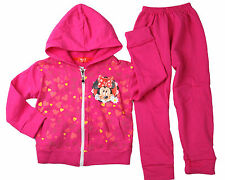 BD GIRLS MINNIE MOUSE TRACKSUIT HOODIE JACKET OUTFIT SET