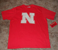 Nebraska Huskers Short Sleeve T Short NWT Mens Sz M, L, XL