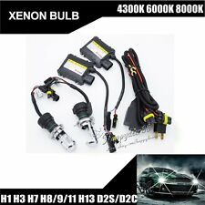 35W/55W Xenon Bulbs Headlight HID Replacement Kit H1/H3/H7/880/4300K/6000K/8000K