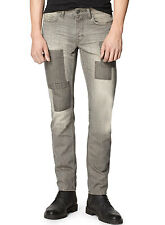 CALVIN KLEIN JEANS Slim Fit Jeans 33 x 32 PTC Industrial Grey Button Fly $128