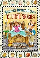 Arthur's Really Helpful Bedtime Stories by Marc Brown c1998, VGC Hardcover