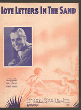 Love Letters In The Sand 1931 RUSS COLUMBO Vintage Sheet Music