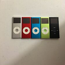 Apple ipod Nano 2nd Generation 2GB, 4GB, 8GB  Silver Red Green Blue Black