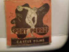 VINTAGE CASTLE FILMS SPORT PARADE 16 MM  MOVIE FILM  1940'S  ???