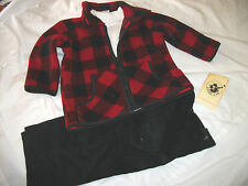 * NEW 3PC BOYS GOOD LAD SWEATER WINTER OUTFIT SET 18M