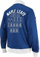 Toronto MAPLE LEAFS Officiallly Licensed NHL Stanley Cup Tracker CCM Jacket,