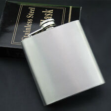Stainless Hip Liquor Whiskey Alcohol Pocket Flask+Funnel+Cup Gift  RW