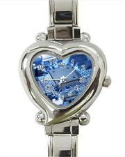 Electronics Heart Italian Charm Watch (Battery Included)