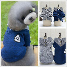 NEW Fleece Sweater Jacket Coat Puppy Pet Dog  Hoodie Shirt Clothes Apparel S-XXL