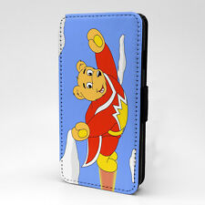 Retro Comic Superted Flip Case Cover For Samsung Galaxy - T994