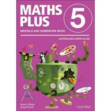 Maths Plus Aus Curriculum Edition Mentals & Homework Book 5 Revised Ed 2016 by H