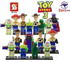 Toy Story Mini Figures Characters Toys Kids Works on Lego Woody' Character Heros