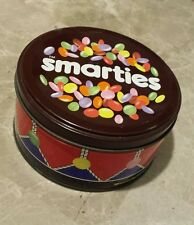Smarties Drum Tin Rowntree Chocolate Advertising Vintage Old Collectable