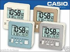 Casio DQ-981 Auto Calendar Thermometer Alarm Clock Light 12/24 Hour humidity