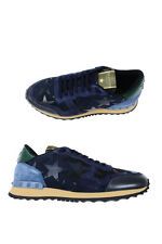 Valentino Shoes Sz. 41,5 Leather MADE IN ITALY Man Bl LY0S0723ANC-M30 PUT OFFER