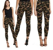 NEW WOMENS CAMOUFLAGE JEANS LADIES HIGH RISE SLIM FIT STRETCH SKINNY JEANS PANTS