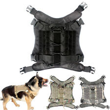 Outdoor Nylon Tactical Dog Vest Dog Clothes for Hiking