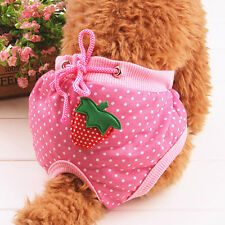 Female Adult Pet Dog Sanitary Pants Diaper Physiological Nappy Underwear Popular